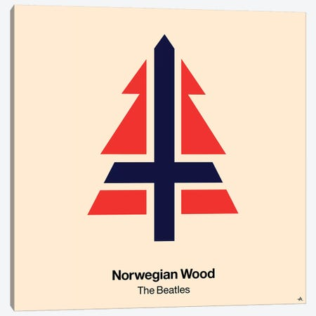 Norwegian Wood Canvas Print #VHE73} by Viktor Hertz Canvas Wall Art