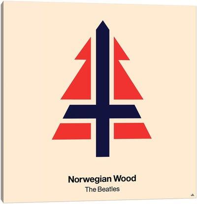 Norwegian Wood Canvas Art Print