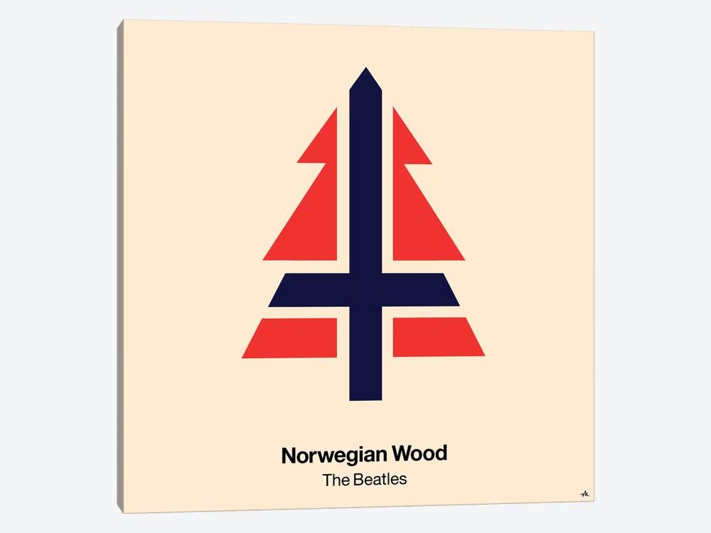 Norwegian Wood by Viktor Hertz 1-piece Canvas Art