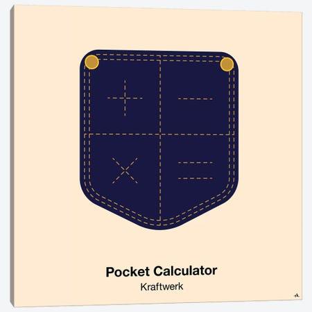 Pocket Calculator Canvas Print #VHE77} by Viktor Hertz Art Print