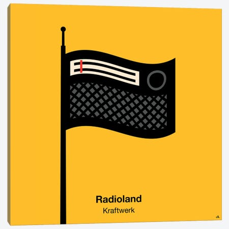 Radioland Canvas Print #VHE79} by Viktor Hertz Canvas Art