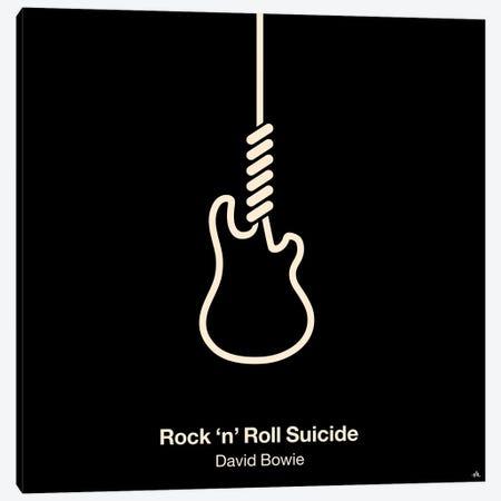Rock 'N' Roll Suicide Canvas Print #VHE80} by Viktor Hertz Canvas Art Print