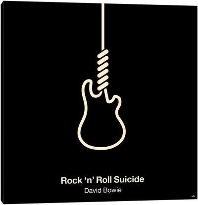 Rock 'N' Roll Suicide Canvas Art Print