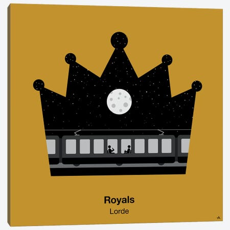 Royals Canvas Print #VHE81} by Viktor Hertz Canvas Art Print