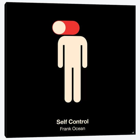 Self Control Canvas Print #VHE82} by Viktor Hertz Canvas Print
