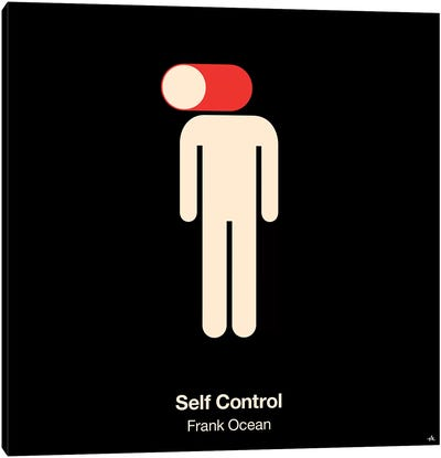 Self Control Canvas Art Print