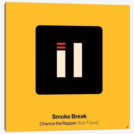 Smoke Break Canvas Print #VHE86} by Viktor Hertz Canvas Wall Art