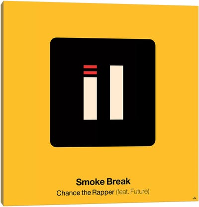 Smoke Break Canvas Art Print