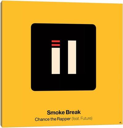 Smoke Break Canvas Art Print