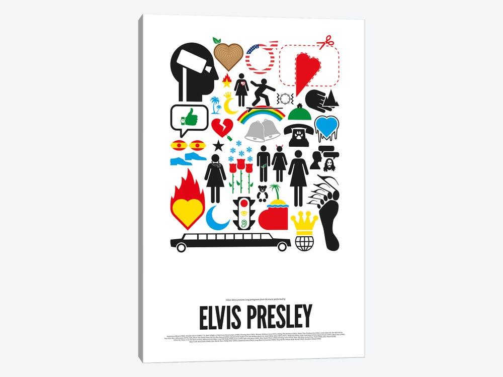 Elvis Presley by Viktor Hertz 1-piece Canvas Art Print