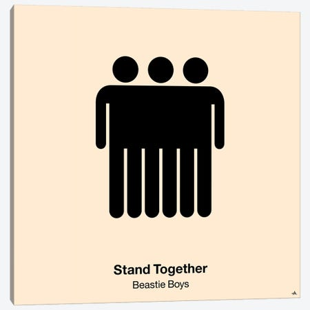 Stand Together Canvas Print #VHE90} by Viktor Hertz Canvas Art