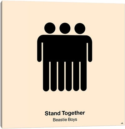 Stand Together Canvas Art Print
