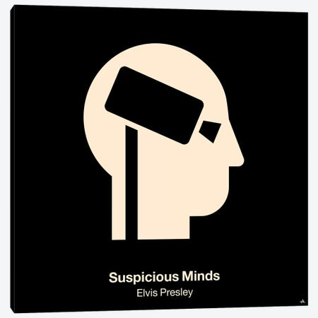 Suspicious Minds Canvas Print #VHE93} by Viktor Hertz Canvas Art
