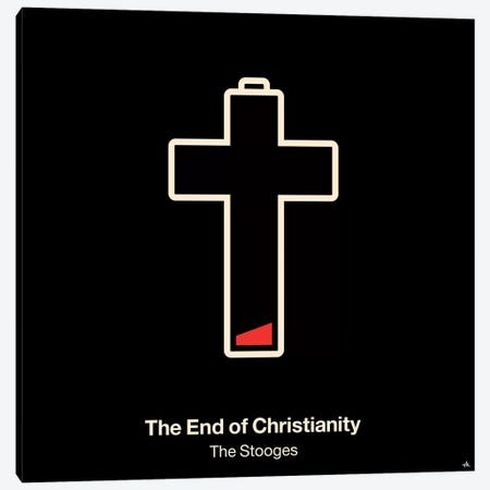 The End Of Christianity Canvas Print #VHE95} by Viktor Hertz Canvas Print