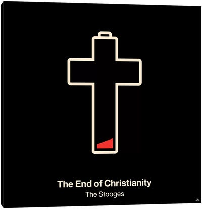 The End Of Christianity Canvas Art Print
