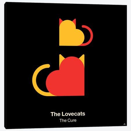 The Lovecats 3-Piece Canvas #VHE96} by Viktor Hertz Art Print