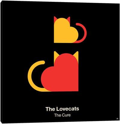 The Lovecats Canvas Art Print