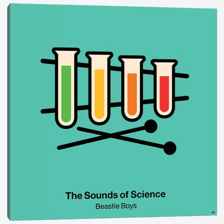 The Sounds Of Science Canvas Print #VHE98} by Viktor Hertz Canvas Art
