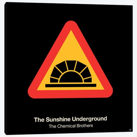 The Sunshine Underground Canvas Print #VHE99} by Viktor Hertz Canvas Art