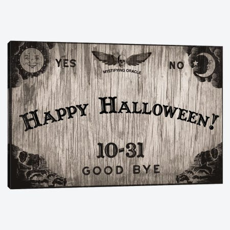Halloween Oracle Canvas Print #VHI1} by 5by5collective Canvas Art Print