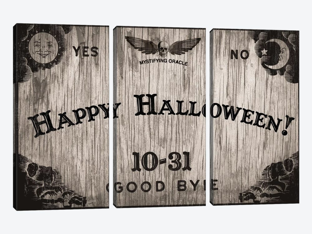 Halloween Oracle by 5by5collective 3-piece Canvas Wall Art