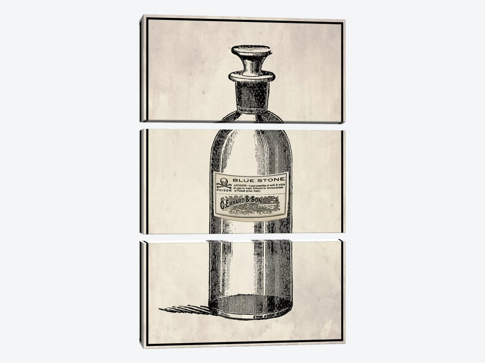 Poison Decanter by 5by5collective 3-piece Art Print