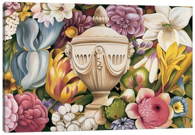 Floral Festa I Canvas Art Print