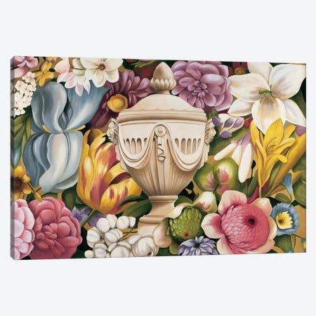 Floral Festa I Canvas Print #VHU1} by Virginia Huntington Canvas Artwork