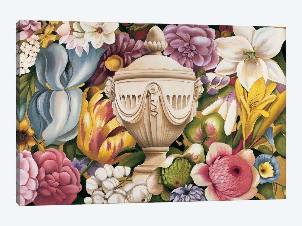 Floral Festa I by Virginia Huntington 1-piece Canvas Art