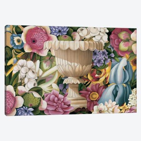 Floral Festa II Canvas Print #VHU2} by Virginia Huntington Canvas Artwork