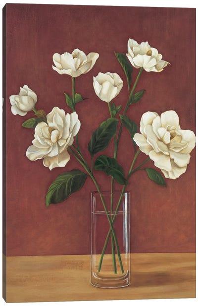 Fleurs de Magnolia Canvas Art Print