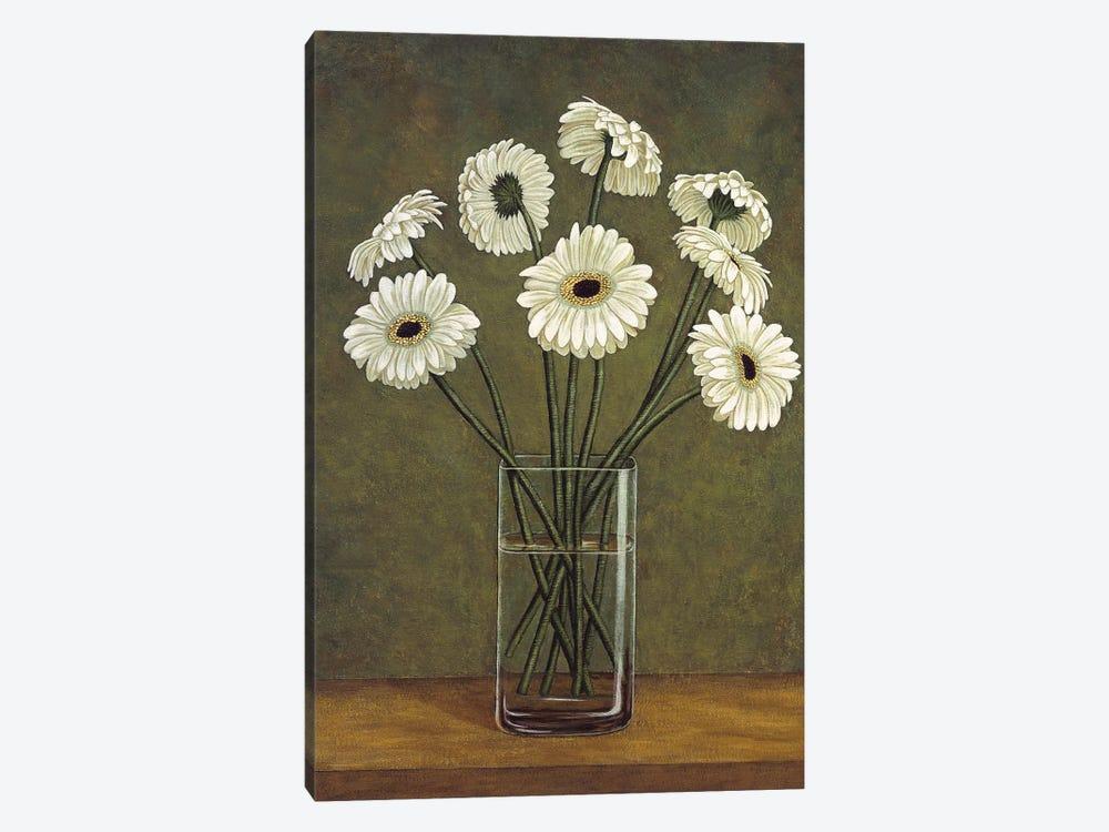 Vase de marguerite by Virginia Huntington 1-piece Canvas Wall Art