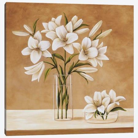 Les Liles Blanches Canvas Print #VHU9} by Virginia Huntington Canvas Artwork