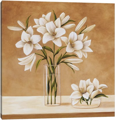 Les Liles Blanches Canvas Art Print