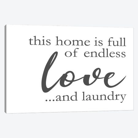 Laundry Words II Canvas Print #VIB15} by Victoria Brown Canvas Print