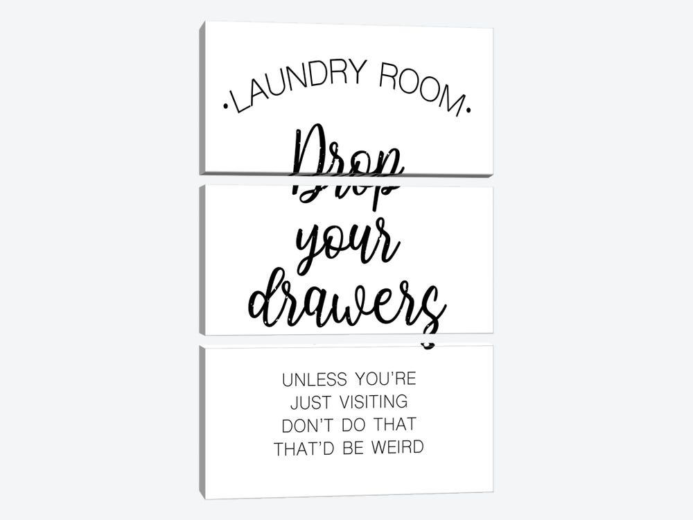 Laundry Words IV by Victoria Brown 3-piece Art Print
