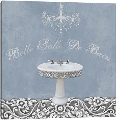 Sink Belle II Canvas Art Print