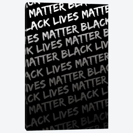 Black Lives Matter IX Canvas Print #VIB7} by Victoria Brown Canvas Wall Art