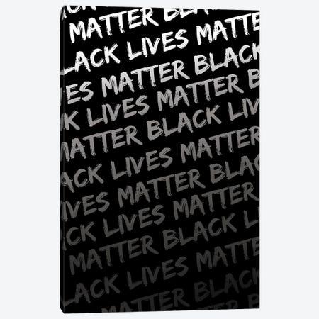 Black Lives Matter IX Canvas Print #VIB7} by Victoria Brown Canvas Wall Art