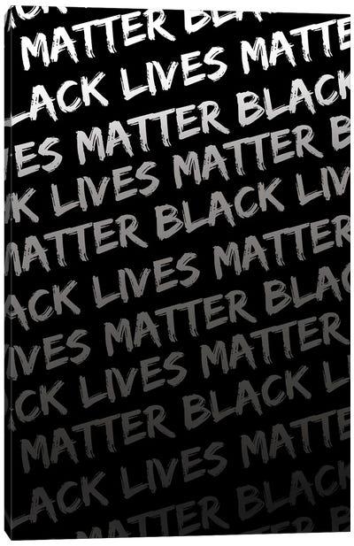 Black Lives Matter IX Canvas Art Print