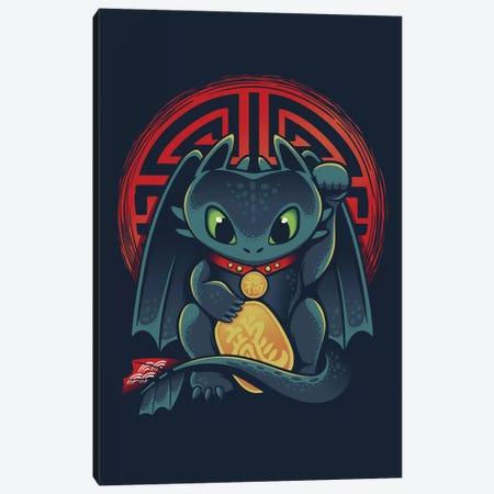 Maneki Dragon Canvas Print #VIC12} by Victor Vercesi Canvas Print