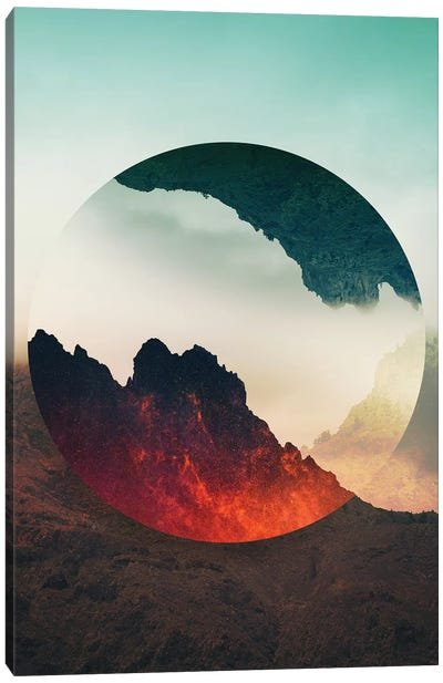 Second Sphere Canvas Art Print