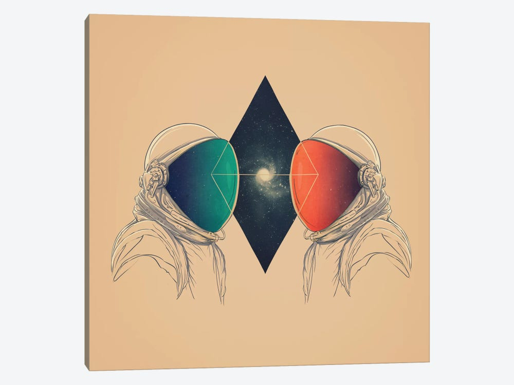 Space Between by Victor Vercesi 1-piece Canvas Artwork
