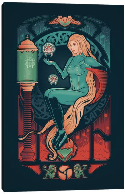 Aran Nouveau Canvas Print #VIC1