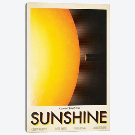 Sunshine Canvas Print #VIC20} by Victor Vercesi Canvas Art