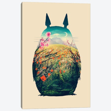 Tonari No Totoro Canvas Print #VIC22} by Victor Vercesi Canvas Artwork