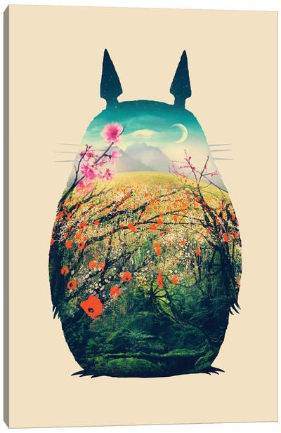 Tonari No Totoro Canvas Art Print