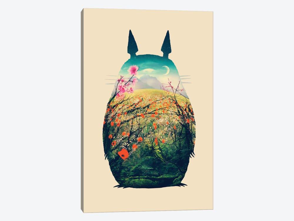 Tonari No Totoro by Victor Vercesi 1-piece Canvas Wall Art