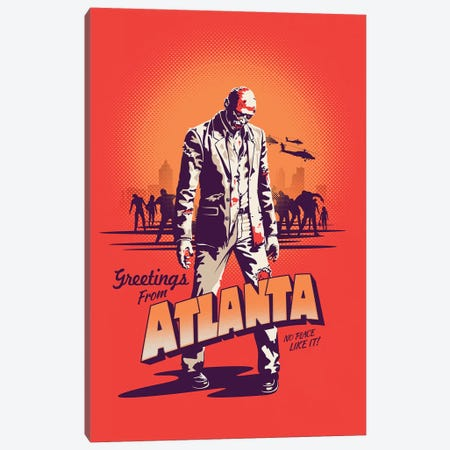 Atlanta Canvas Print #VIC24} by Victor Vercesi Canvas Print