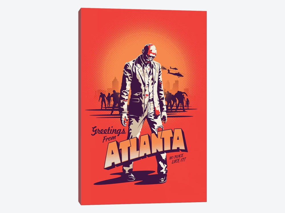 Atlanta by Victor Vercesi 1-piece Canvas Artwork